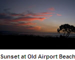 Sunset at Old Airport Beach